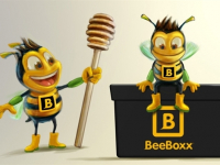 3d bee illustration