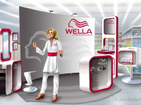 WellaPromostand