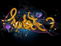 Theo Aartsma illustration 3D typo 11