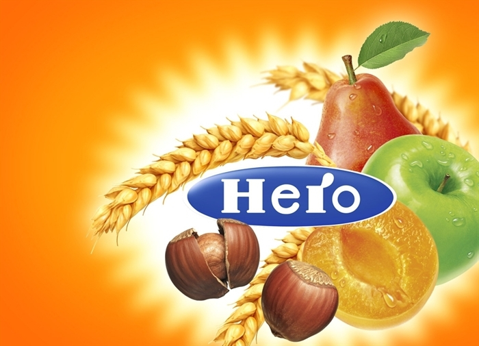 Hero fruit illustratie
