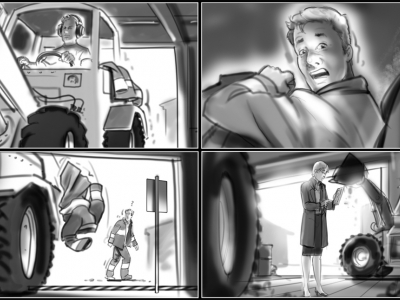 Storyboards, Animatics, Key-Visuals