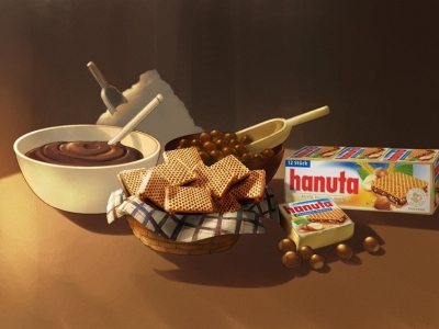 Hanuta chocolate