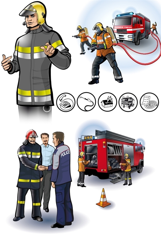 Swiss firefighters