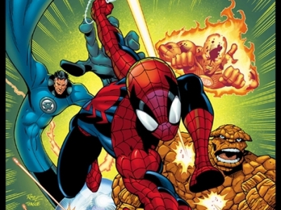 Spiderman-FantasticFourcover