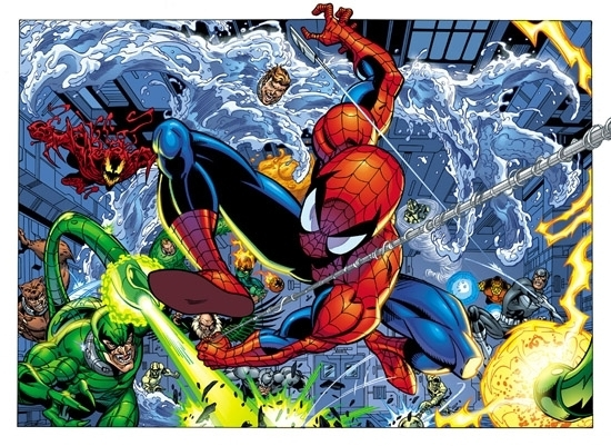 Spideydoublepagesplash1