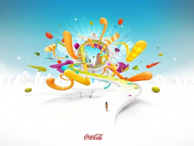 Theo Aartsma illustration 3D typo 43