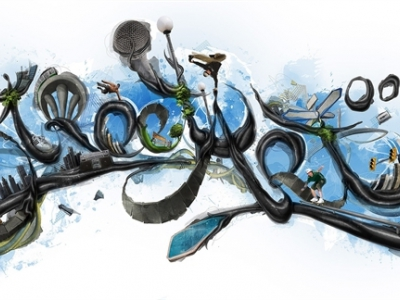 Theo Aartsma illustration 3D typo 72